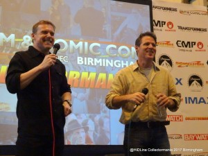 Ben Browder and Michael Shanks